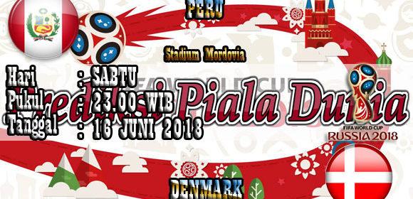 Prediksi Pertandingan Peru vs Denmark 16 Juni World Cup 2018